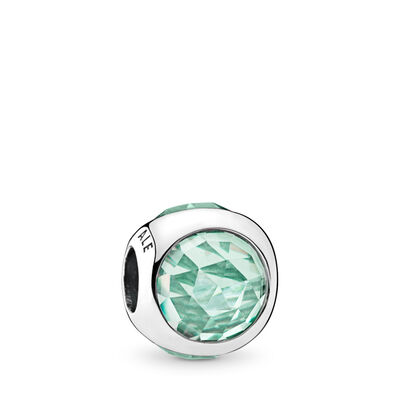 Icy Green Radiant Droplet