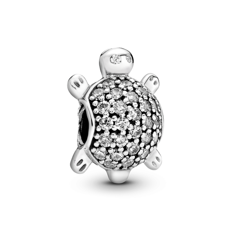 Pavé Sea Turtle Charm