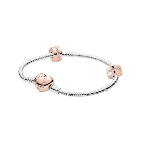 Pandora Moments Heart Clasp Gift Set