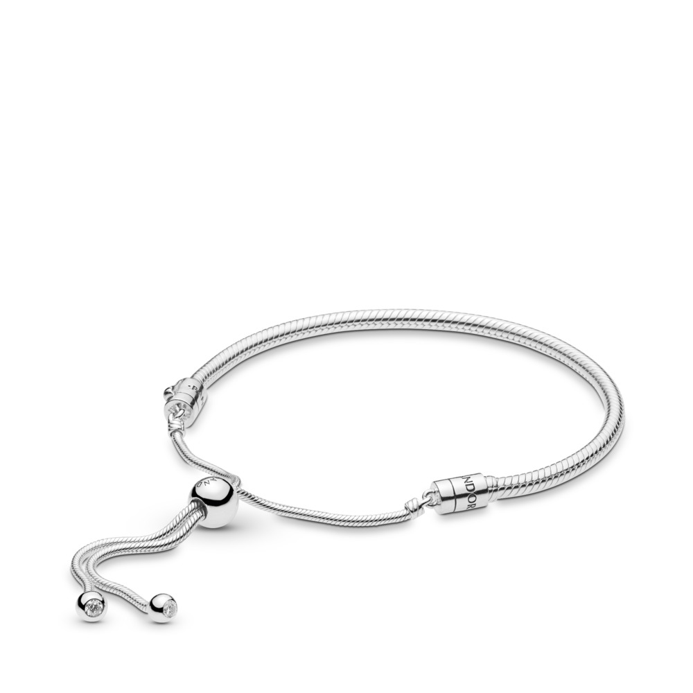 Moments Snake Chain Slider Armbånd
