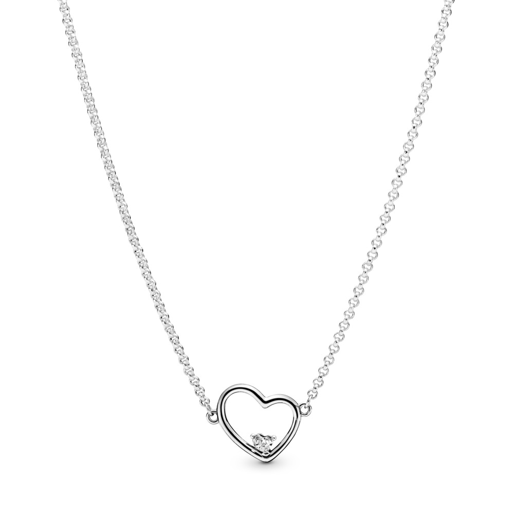 Asymmetric Heart of Love Necklace