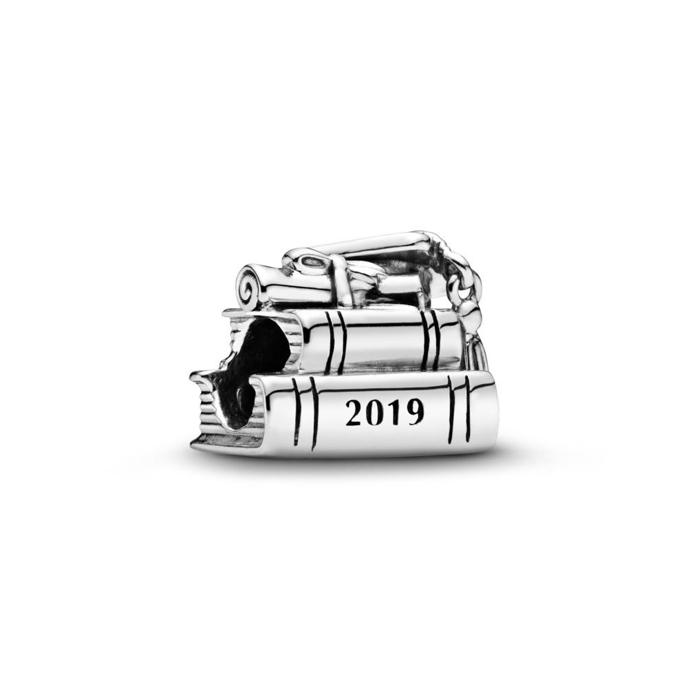 Cap, Book & Scroll 2019 Charm